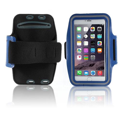 Fitness Sportarmband till Smartphones – Storlek 16 x 8.5 cm – Mörkblå