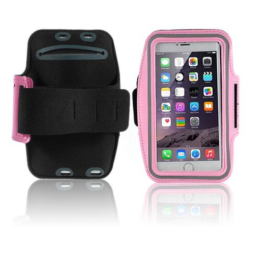Fitness Sportarmband till Smartphones – Storlek 16 x 8.5 cm – Rosa