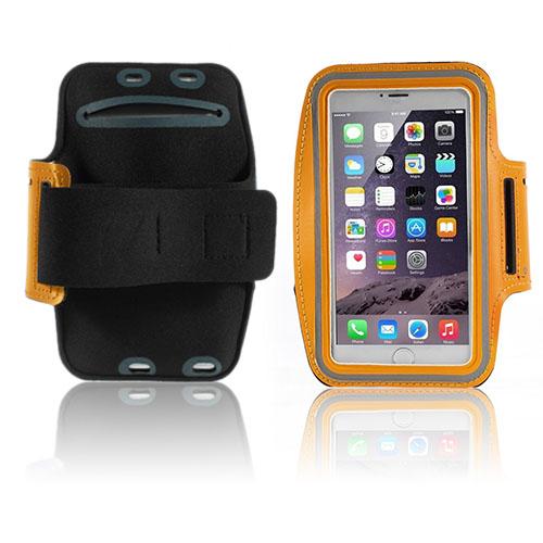 Fitness Sportarmband till Smartphones – Storlek 16 x 8.5 cm – Orange