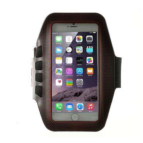 Running Löparmband med Nyckelhållare till Smartphones Size 16 x 8.5cm – Röd
