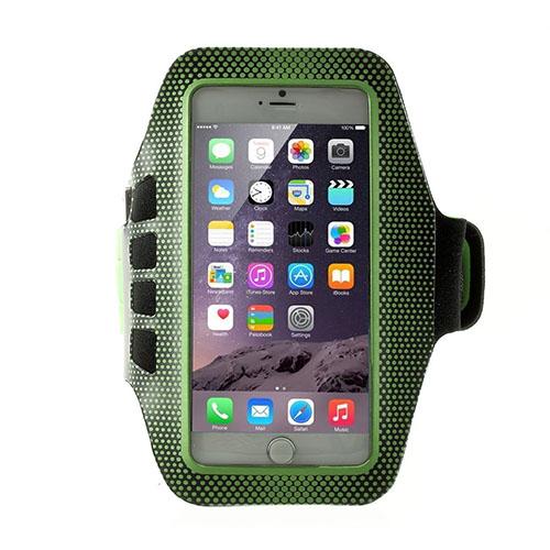Running Löparmband med Nyckelhållare till Smartphones Size 16 x 8.5cm – Grön