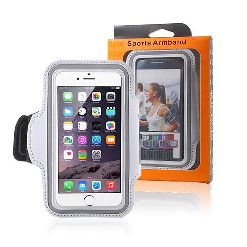 """Sportarmband till 4.7"""" Smartphones – Vit"""