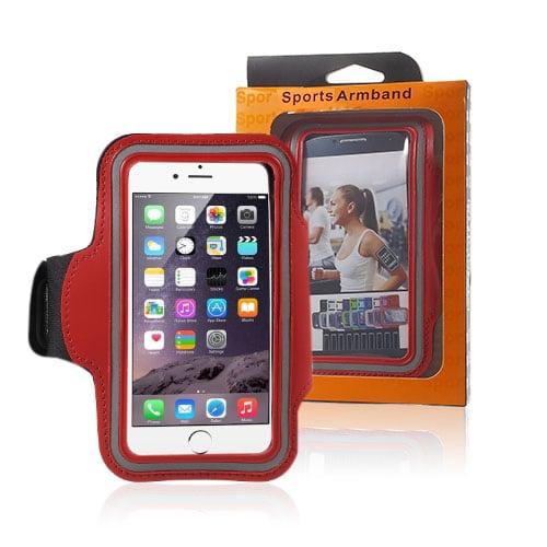 "Sportarmband till 4.7"" Smartphones – Röd"