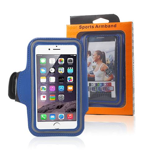 "Sportarmband till 4.7"" Smartphones – Blå"