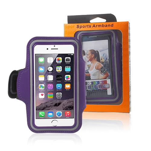 "Sportarmband till 4.7"" Smartphones – Lila"