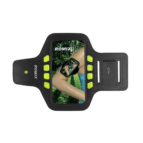 "ROMIX Sport Armband med LED Lys till 4,7"" Smartphones – Svart"
