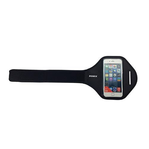 """ROMIX Sport Armband till Løb till 4,7"""" Smartphones – Svart"""