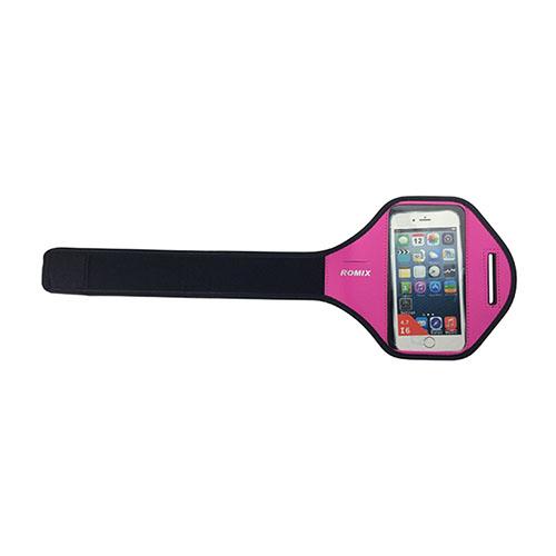 "ROMIX Sport Armband till Løb till 4,7"" Smartphones – Varm Rosa"