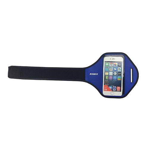 """ROMIX Sport Armband till Løb till 4,7"""" Smartphones – Blå"""
