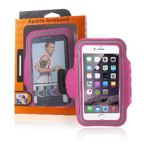 """Sportarmband till 5.5-5.7"""" Smartphones – Varm Rosa"""