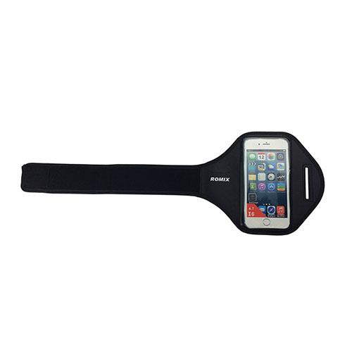 """ROMIX Sport Armband till Løb till 5,5"""" Smartphones – Svart"""
