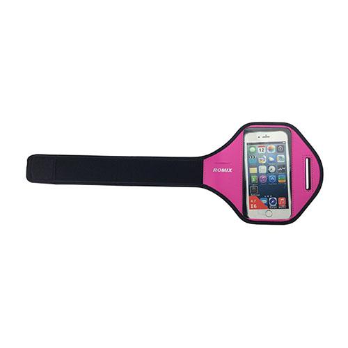 "ROMIX Sport Armband till Løb till 5,5"" Smartphones – Varm Rosa"