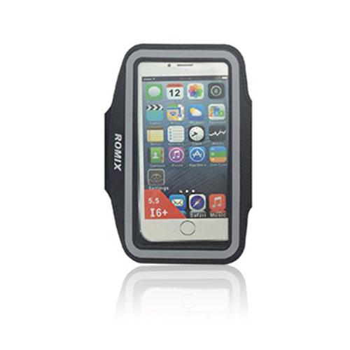 """ROMIX Sport Armband till 5,5"""" Smartphones – Svart"""