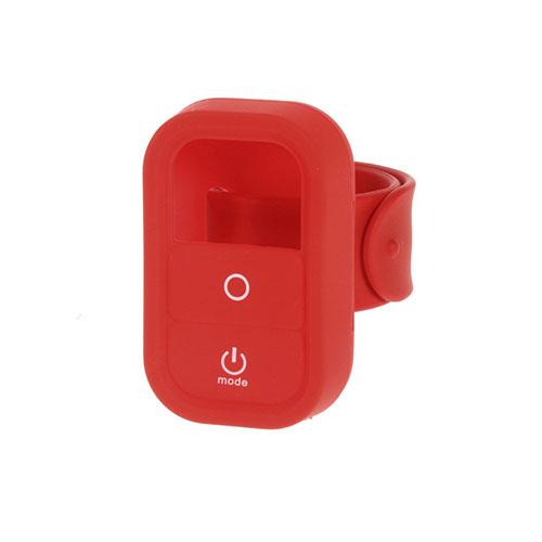 Silikon Skyddande Skal med Handledsrem för GoPro – Röd