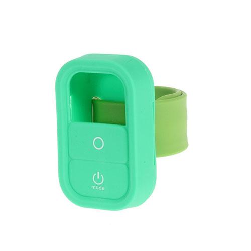 Silikon Skyddande Skal med Handledsrem för GoPro – Grön