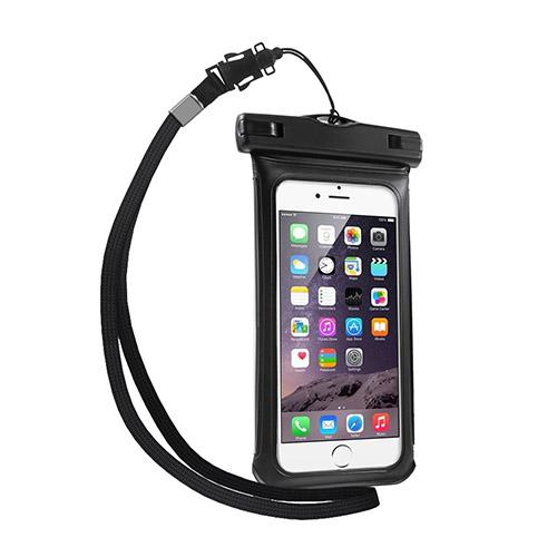"""V1 Vattentät Väska till 4,7"""" Smartphones Storlek: 15 x 7,5cm – Svart"""