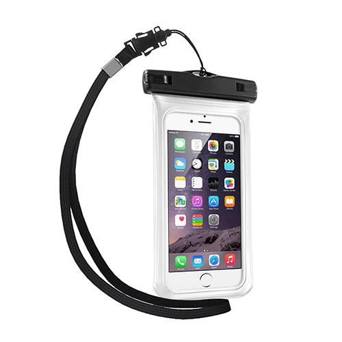 """V1 Vattentät Väska till 4,7"""" Smartphones Storlek: 15 x 7,5cm – Vit"""