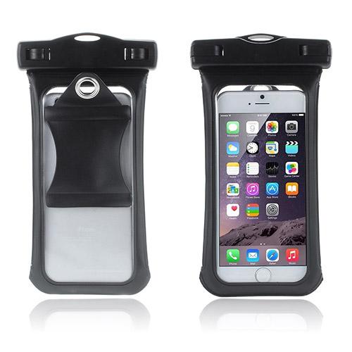 """V3 Vattentät Väska till 4,7"""" Smartphones Storlek: 15,3 x 8cm – Svart"""