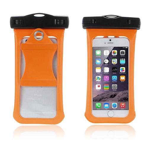 """V3 Vattentät Väska till 4,7"""" Smartphones Storlek: 15,3 x 8cm – Orange"""