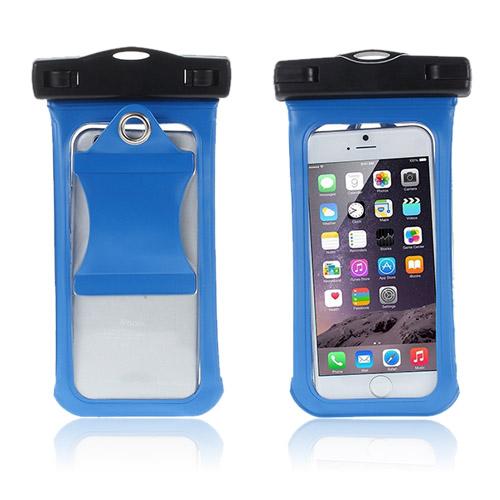 """V3 Vattentät Väska till 4,7"""" Smartphones Storlek: 15,3 x 8cm – Blå"""