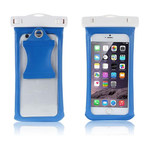V4 Vattentät Väska till Smartphones Storlek: 17 x 9cm – Blå