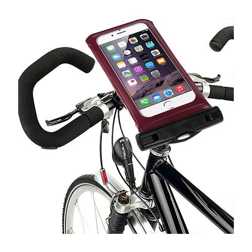 """IPX8 Vattentät Väska med Cykelhållare till 5,5"""" Smartphones Storlek: 16 x 8,2cm – Röd"""