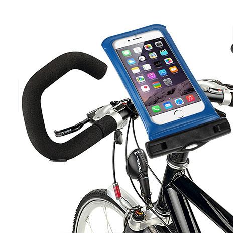 """IPX8 Vattentät Väska med Cykelhållare till 5,5"""" Smartphones Storlek: 16 x 8,2cm – Blå"""