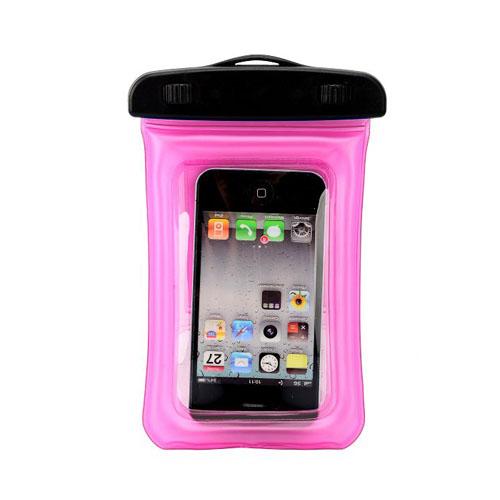 Vattentät Påse & Armband för Smartphones (Rosa)