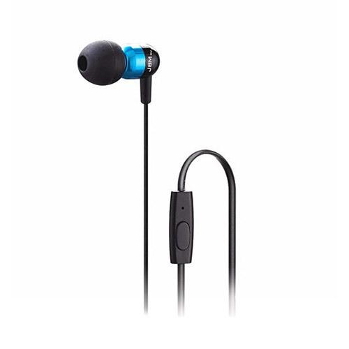 JBM MJ-A8 (Blå) Brusreducerande Hörlurar med Mikrofon