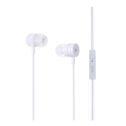 PINZUN In-ear Hörlurar med Mikrofon Volym Kontroll för iPhone Samsung (EJ-001)