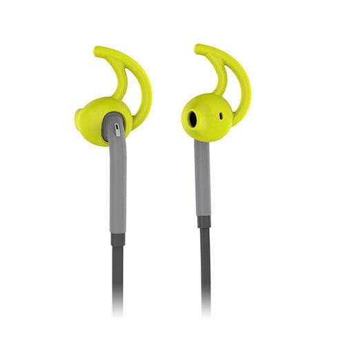 USAMS Ewin Series Öron krok Stil 3.5mm Hörlurar med Mikrofon för iPhone Samsung Sony – Gul