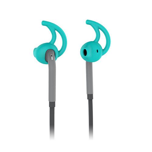 USAMS Ewin Series Öron krok Stil 3.5mm Hörlurar med Mikrofon för iPhone Samsung Sony – Cyan