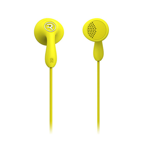 REMAX Candy RM-301 Hörlurar för iPhone Samsung Sony – Gul