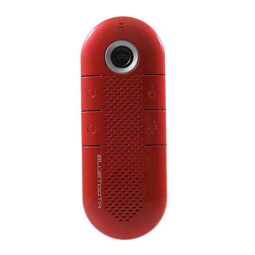 Portabel Sladdlös Bluetooth Högtalare och Mottagare med Magnetisk Hållare – Röd