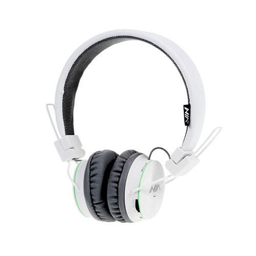 NIA X2 Bluetooth Hörlurar – Vit