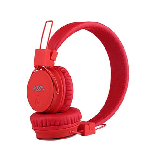 NIA X2 Bluetooth Hörlurar – Röd