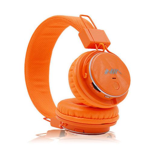 NIA Q8 Bluetooth Hörlurar – Orange
