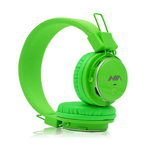 NIA Q8 Bluetooth Hörlurar – Grön