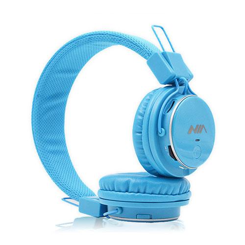 NIA Q8 Bluetooth Hörlurar – Ljus Blå