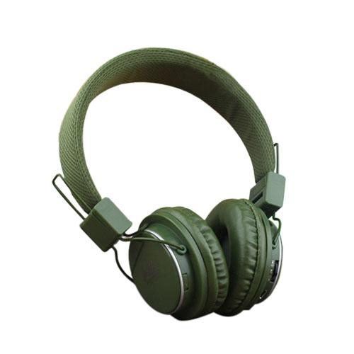 NIA-8809S Folding Hörlurar – Militärgrön