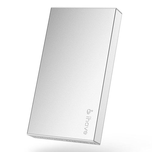 IHAVE BOSS (Silver) 10000mAh Dual USB Power Bank till Smartphones och Tablets