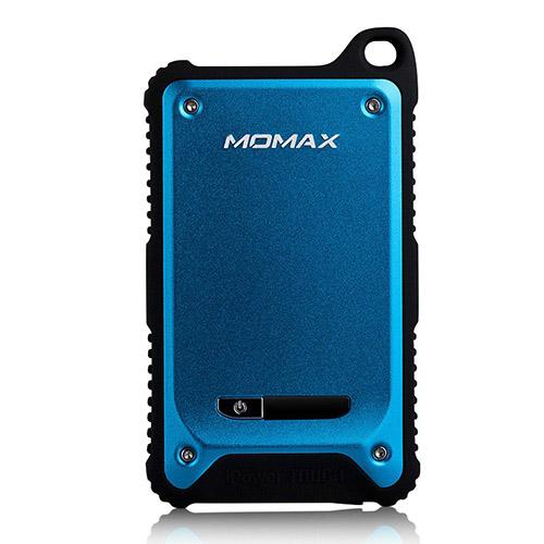 MOMAX (Blå) Dual USB Tuff & Vattentät Power Bank till Smartphones