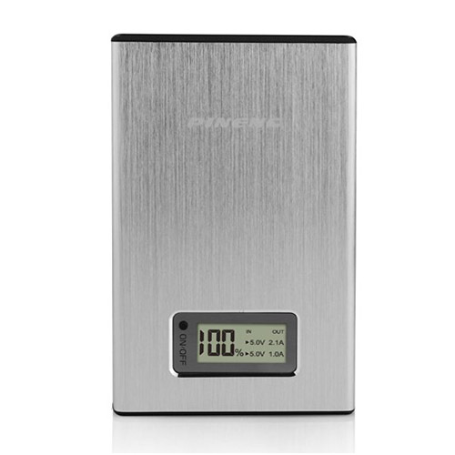 Pineng (Silver) 11200mAh Dual USB Power Bank till Smartphones