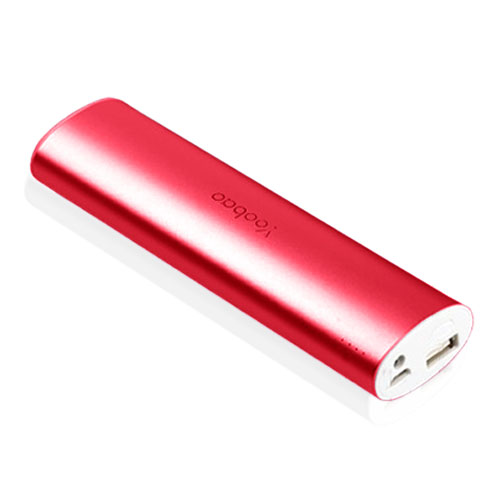 Yoobao Magic Wand Power Bank 10400mAh (Röd) med LED-ficklampa till Smartphones