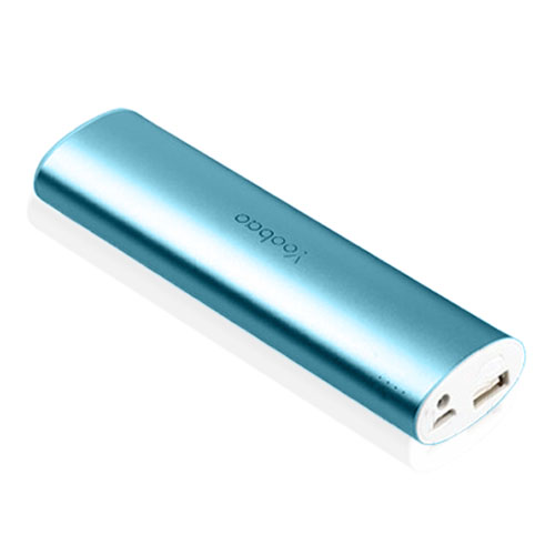 Yoobao Magic Wand Power Bank 10400mAh (Blå) med LED-ficklampa till Smartphones