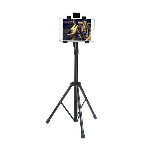 Metall Tripod Multi-Riktning Smartphone och Tablet Hållare – Bredd: 11 – 20cm