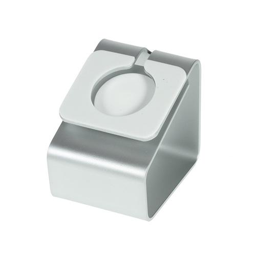 Stativ & Laddstation av Aluminum till Apple Watch 38 / 42mm – Silver