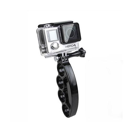 Handhållen Knogjärn Selfie Hållare för GoPro och Action Kamera