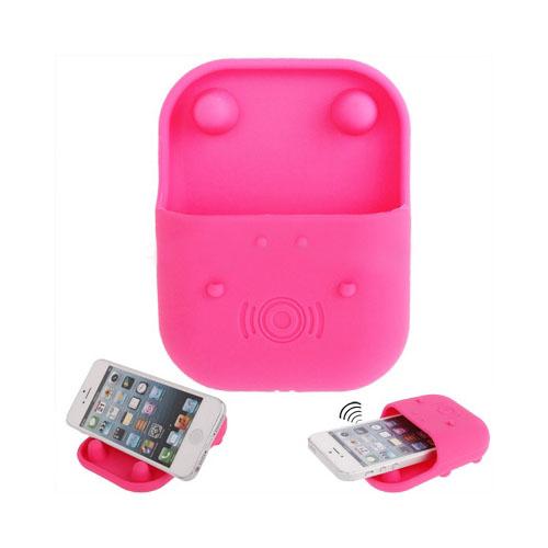 Hippo Speaker (Rosa) iPhone 5-Stativ