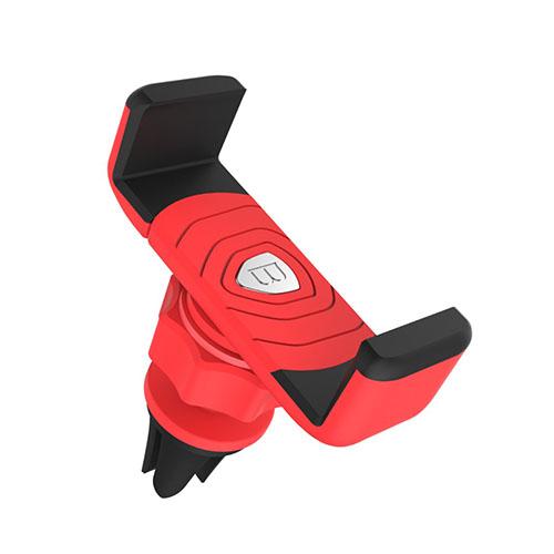 Baseus Rotation Bil Luftventilations Hållare för Smartphones – Röd